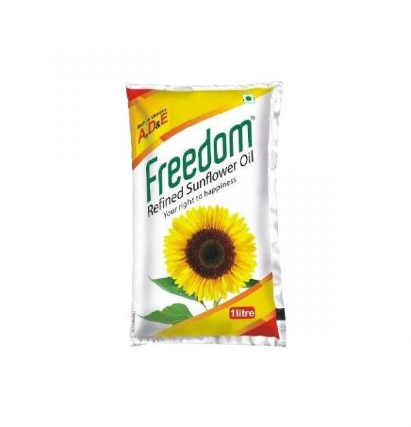 Freedom Sunflower Oil 1 Liter pack
