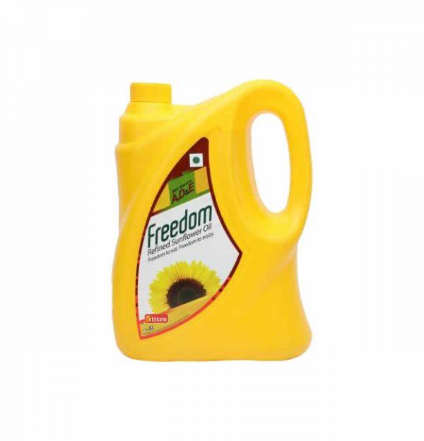 Freedom Sunflower Oil 5 Liter Tin