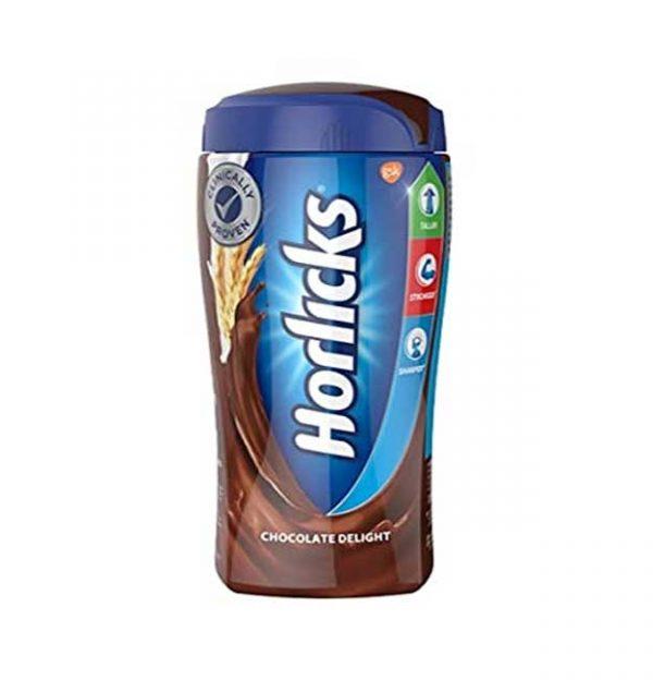 Horlicks Chocolate Delight Nutrition Drink Jar