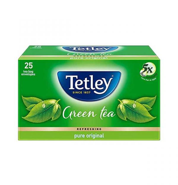 Tetley Green Tea Pure Original - 25 Tea Bags