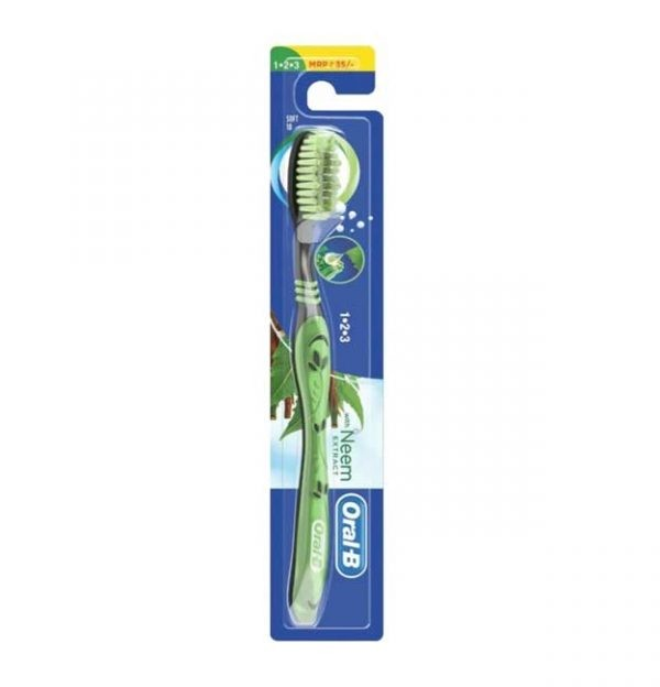Oral-B Neem Extracts Toothbrush