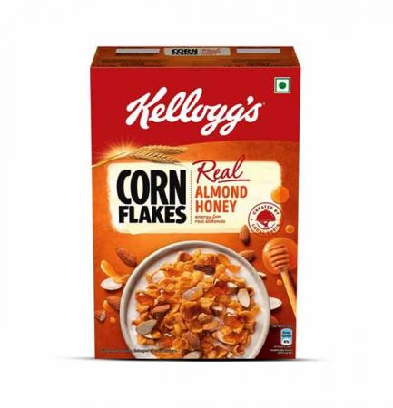 Kellogg's Corn Flakes Real Almond Honey