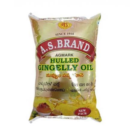 A.S.Brand Gingelly Oil-1 L
