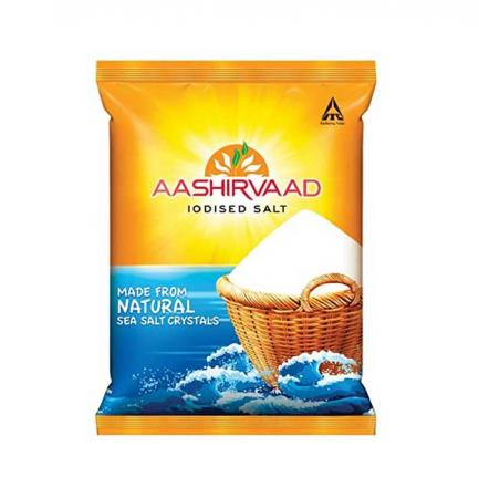 Aashirvaad Iodised Salt (Table Salt) 1Kg