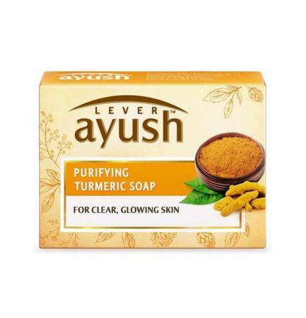 Lever Ayush Purifying Turmeric Soap-100g